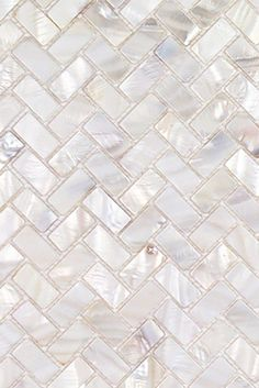 Decorative Pearlescent Mother of Pearl Mosaic Tile in White for Shower Bathroom, kitchen backsplash, and interior wall. Mosaic Bathroom, Mosaic Tiles, Shower Bathroom, Mosaic Shower Tile, Mosaic Backsplash, Cement Tiles, Tiling, Mother Of Pearl Backsplash, Kitchen Tiles