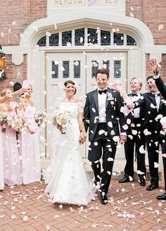 Must Have Family Wedding Photos ❤︎ Wedding planning ideas & inspiration. Wedding dresses, decor, and lots more. Wedding Send Off, Wedding Exits, Ballroom Wedding, Church Wedding, Wedding Ceremony, Wedding Vendors, Wedding Favors, Weddings, Perfect Wedding