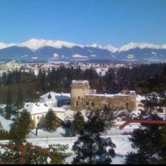 Liptovsky Hradok in Winter. Slovakia