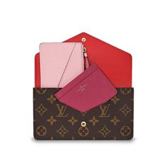 Jeanne Wallet Monogram Canvas in Women's Small Leather Goods Wallets collections by Louis Vuitton