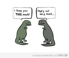 t-rex problems... haha don't know where are the t-rex jokes are coming from but too funny