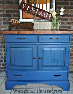 Annie Sloan Chalk Paint Furniture - Whimsical Perspective