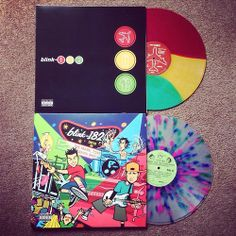 Blink 182 records. want Take Off Your Pants and Jacket so bad
