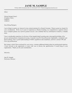 Letter Of Intent Application Job Career Resume Template
