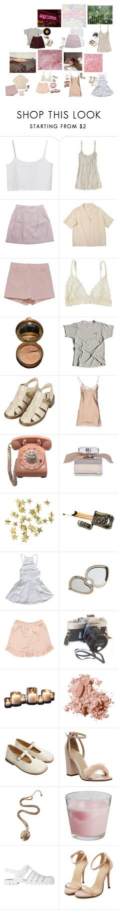 """""""bothc character closet lookbook ♡"""" by sleeping-in-space ❤ liked on Polyvore featuring Monki, American Eagle Outfitters, Retrò, Lonely, Topshop, Falcon & Bloom, Chloé, H&M, Aerie and Miu Miu"""