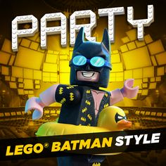 I'm a billionaire superhero. A man of stature and class. And I know how to throw a...birthday party for kids. This board has LEGO® Batman-themed party supplies so you know they're gonna have an awesome time. | The LEGO® Batman Movie | In theaters now