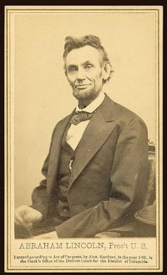 Abraham Lincoln photographed by Alexander Gardner on Feb 5, 1865. #abrahamlincoln