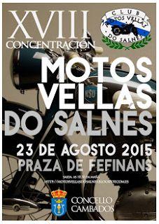"""CORES DE CAMBADOS: 18 CONCENTRACIÓN """"MOTOS VELLAS DO SALNÉS"""""""