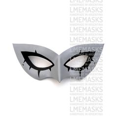 Persona 5 Leather Mask MegaTen Video Game Role-Playing by LMEmasks