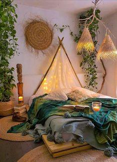 48 Amazing Bohemian Bedroom Decor Ideas That Are Comfortable - - 48 Amazing Bohemian Bedroom Decor Ideas That Are Comfortable Bedroom Design 48 erstaunliche böhmische Schlafzimmer Dekor Ideen, die bequem sind