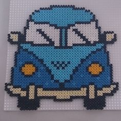 VW van hama perler beads by gablakkaa