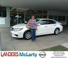 Congratulations Nora on your #Nissan #Altima from Sylvester Redix at Landers McLarty Nissan !  https://deliverymaxx.com/DealerReviews.aspx?DealerCode=RKUY  #LandersMcLartyNissan