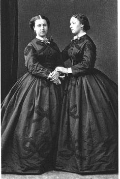 1864 Princesses Helena and Louise