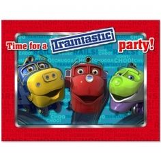 Chuggington Invitations