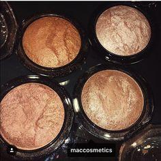MAC Gold Deposit If you love a bomb highlight you'll love these beauty MAC Cosmetics Makeup Luminizer