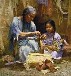 Teaching of my Grandmother by Howard Turpning Más
