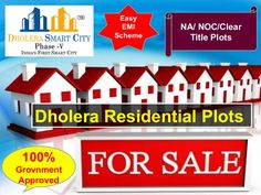 Residential plots for sale in Dholera smart City phase 5 at very affordable price, near Dholera International Airport.  Project Features:  NA NOC Clear title Plots  100% Government Approved Plots  2 minutes from International Airport Zone  1 Kilometre from Metro Rail (Proposed)  1 Kilometre from 250 Meters Highway (Proposed)  2.5 Kilometres from State Highway 6  4 Roads (one existing) 3 Proposed roads from our project site to Airport  Contact Us: +91 7096961244, 7096961242