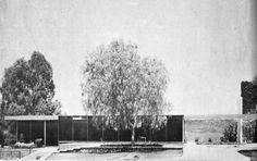 Casa Otero, Jardines del Pedregal, México DF 1952    Arq. Manuel González Rul -     Casa Otero, Pedregal, Mexico City 1952