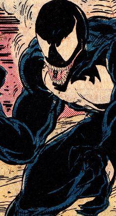 comicbookvault:  COMIC BOOK CLOSE UPV E N O MAmazing Spider-Man #317 (June 1989)Todd McFarlane (pencils/inks) & Bob Sharen (colors)