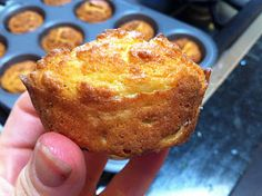 """Paleo """"Corn""""bread muffins   2/3 cup coconut flour  1/2 cup butter (1 stick) (If you cant eat butter, mix coconut butter and olive oil)  8 eggs  1/2 tsp salt  1/2 tsp baking powder"""