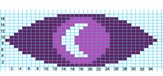 Ravelry: Welcome to Night Vale Logo Charts pattern by Sarah Langan