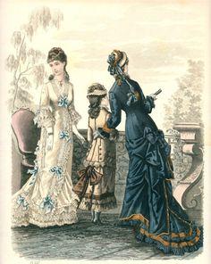 Late 1870's Fashion Plate