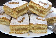 Lenja pita sa jabukama (Lazy apple pie) - very common dessert in Serbian households. Ingredients for 4 people: 200g margarine, 100g lard, 400g sugar, 4 eggs...