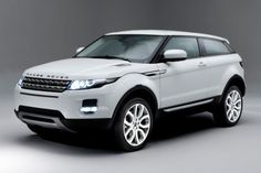 Range Rover Evoke. The only car that I've ever wanted in white more so than in black. How strange.... #wantone