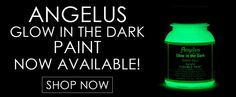 Angelus Green Glow In The Dark Paint