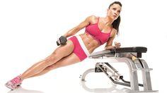 Oksana Grishinia's Flat Abds Workout Plan