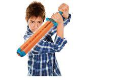 cool Hog Wild Atomic Sword Popper, put together to spar to victory