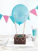 NEW Donna Hay Kid's Magazine  up in the air cake recipe shared by Savvy Mama