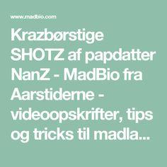 Krazbørstige SHOTZ af papdatter NanZ - MadBio fra Aarstiderne - videoopskrifter, tips og tricks til madlavning