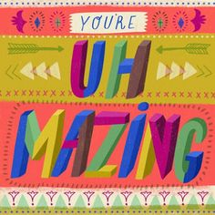 some more fun type cards from Studio Ink....print & pattern