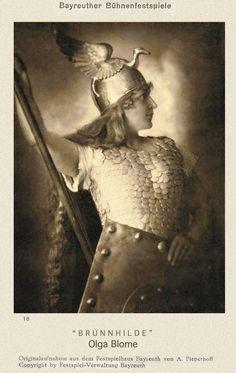 Olga Blome Walküre 1924