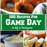 100 Recipes for Game Day! Yummy wing sauce!
