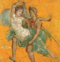 This is a painting of the rape of Proserpina. It is from the classical world in…