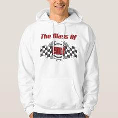 #school - #The Class of 2017 Graduation Checkered Flag Hoodie