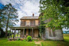 Abandoned house in Elkton, in the Shenandoah Valley of Virginia.
