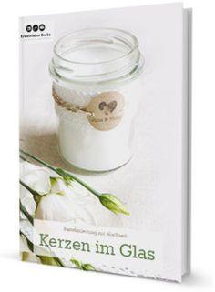 Romantische Kerzen im Glas