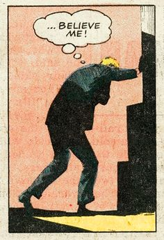 believe me vintage comic