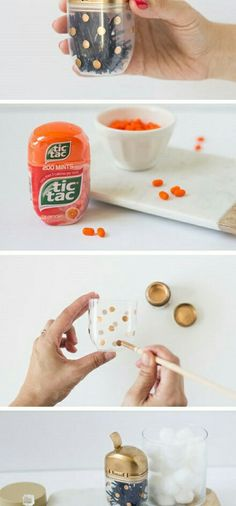 Tic tac cup