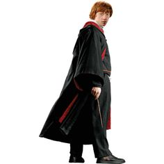 Ron Weasley in Robe with Wand Harry Potter and the Half-Blood Prince ($20) ❤ liked on Polyvore featuring harry potter