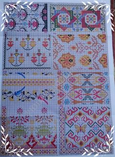 Cross Stitch, Bargello, Embroidery, Quilts, Blanket, Aromatherapy, Needlepoint, Stitches, Crafts