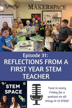 Being a first-year STEM teacher can be very overwhelming. This episode is all about Claire's experience after her first year as a formal classroom teacher. Learn about the curriculum she used, tips and tricks to make teaching STEM more effective, and some lessons learned that will help you with your own STEM education journey!