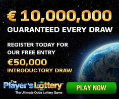 Here's a chance to build an easy affiliate business selling tickets to a new International Lottery - take a look today