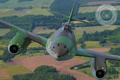 A restored Messerschmit Me-262, by Classic Aircraft Photography