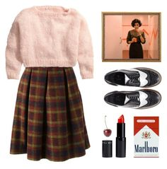 """Audrey Horne"" by sadiesyn ❤ liked on Polyvore featuring Stella Jean, H&M and Essentiel"