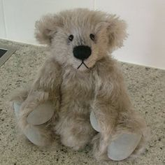 Teddy bear pattern  PDF DUBLY Collectable artist by NiokaBears, $9.00
