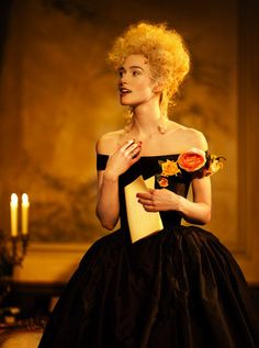 Keira Knightley in the West End production of The Misanthrope (Moliere).